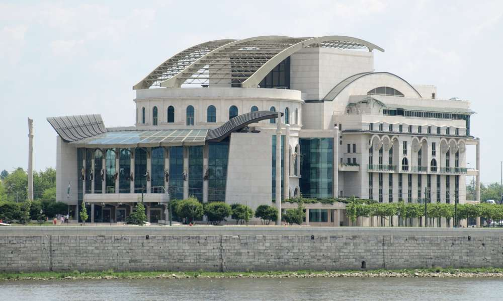 Hungary National Theatre in Budapest. Photographer: Misibacsi, CC BY-SA 3.0. Source: commons.wikimedia.org.