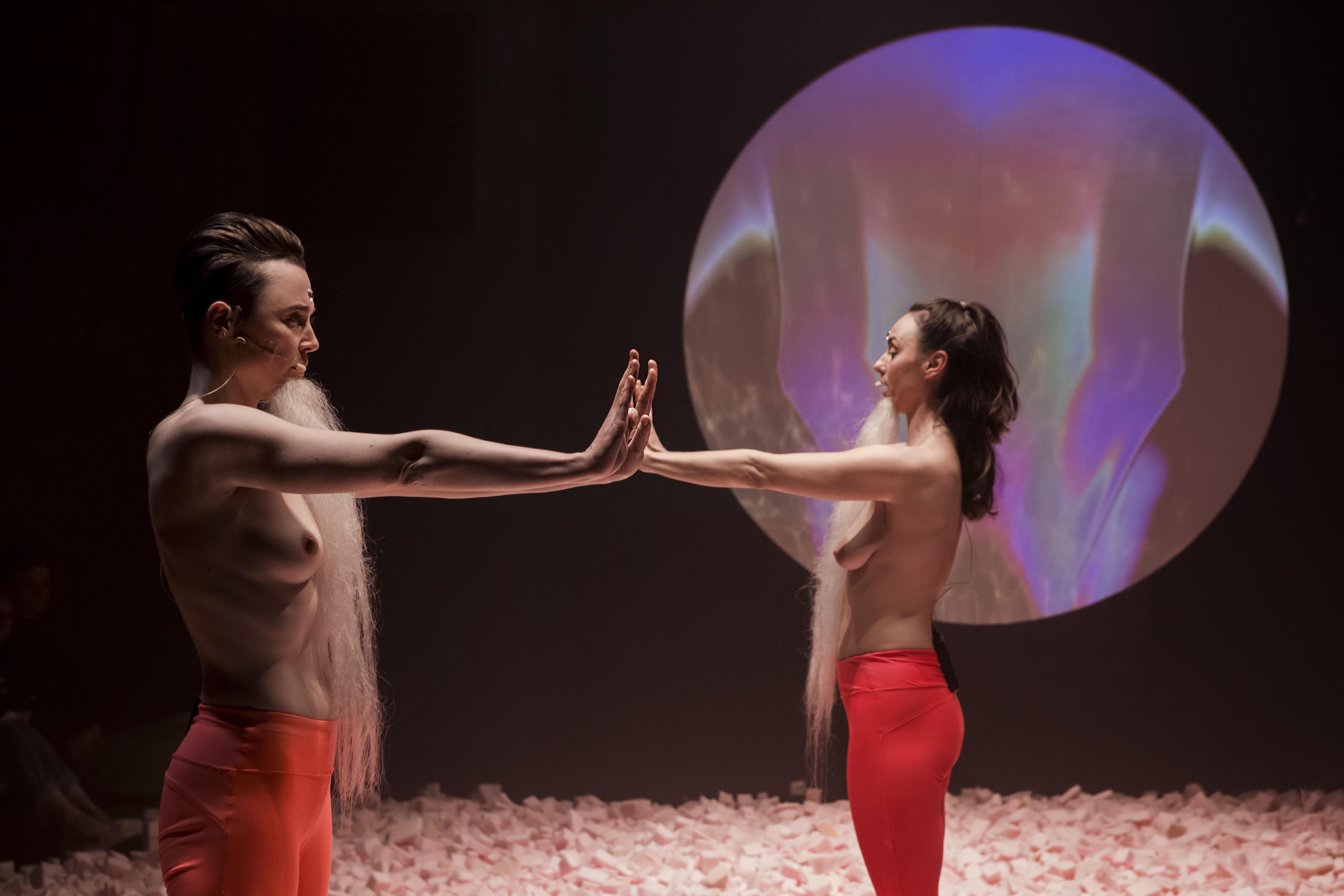 <i>Malina</i>, dir. Marta Malikowska and Anka Herbut,  premiere: 4 November 2018, The Zbigniew Raszewski Theatre Institute, photo: Karolina Gorzelańczyk.