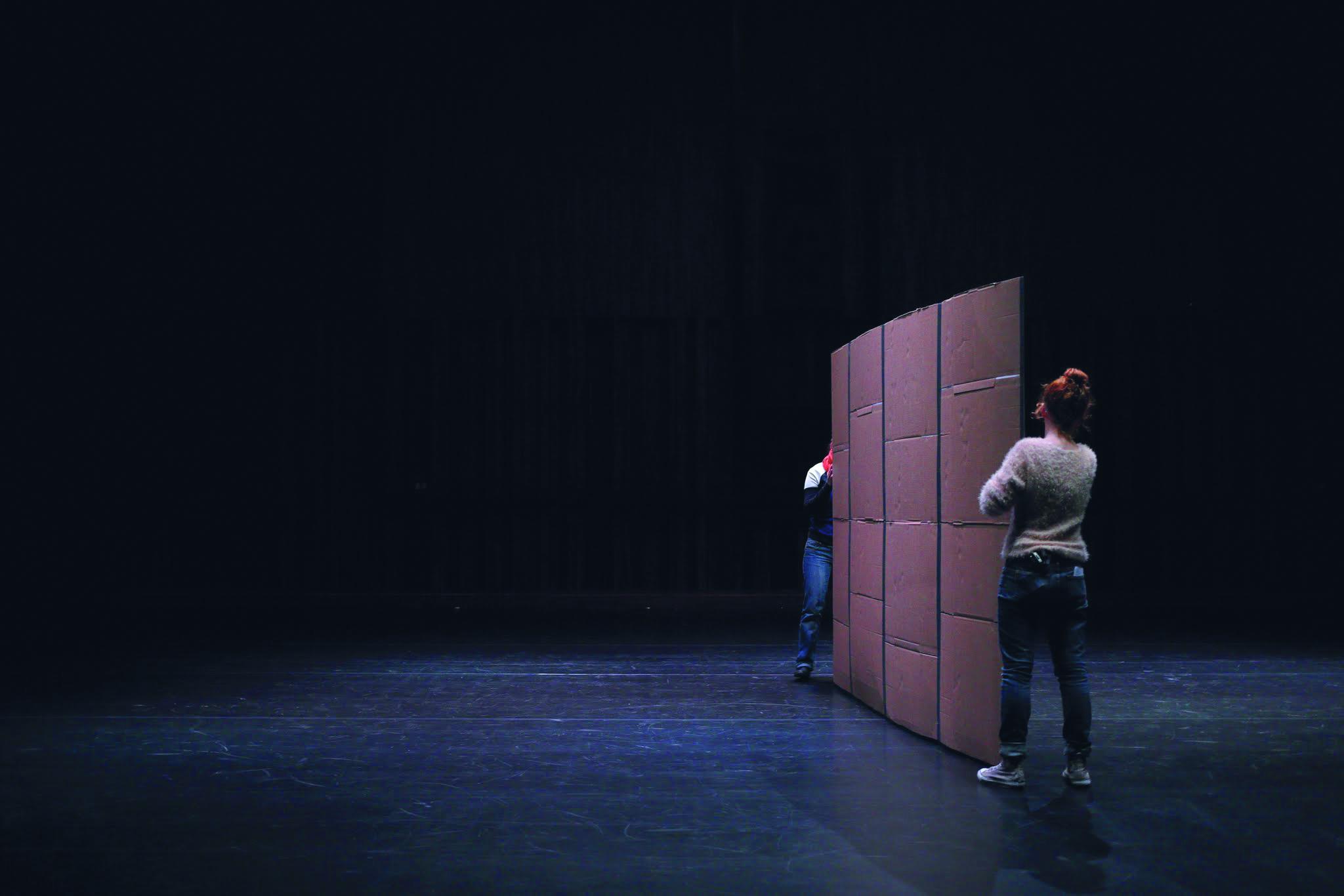 'Pygmalion', dir. Wojtek Ziemilski, premiere: 25.10.2014, produced by ZAMEK Culture Centre in Poznań and Komuna//Warszawa. Photo: Maciej Kaczyński.