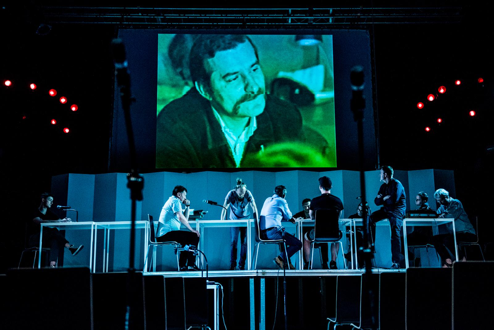 <i>Solidarity: The Reconstruction</i>, dir. Paweł Wodziński, Polski Theatre, Bydgoszcz, premiere: 23 June 2017. Photo: Monika Stolarska.